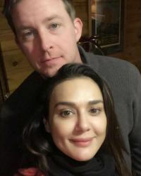 Preity Zinta and Gene Goodenough