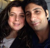 Rajev Paul and Delnaaz Irani