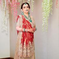 Nita Ambani For Akash Ambani and Shloka Mehta's Wedding