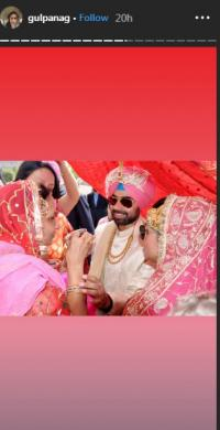 Gul Panag wedding pictures
