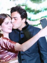 Ayaz Khan and his Missus, Jannat Khan