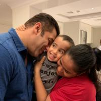 Arpita Khan, Salman Khan and Ahil Sharma