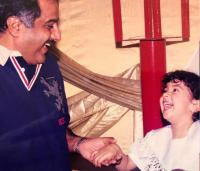 Janhvi Kapoor And Boney Kapoor Throwback Picture