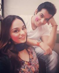 Sharad Malhotra and Ripci Bhatia