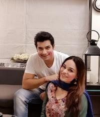 Sharad Malhotra with wife, Ripci Bhatia