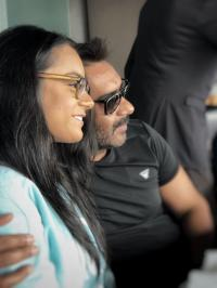 Nysaa Devgan and Ajay Devgn