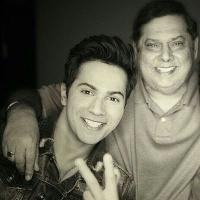 Varun Dhawan with father, David Dhawan