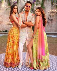 Tara Sutaria, Tiger Shroff and Ananya Panday