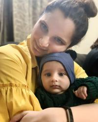 Sania and Izhaan