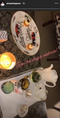 Sonam Kapoor's in-laws celebrated her wedding anniversary
