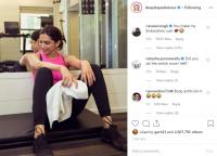 Ranveer Singh's comments on Deepika Padukone's workout posts
