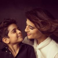 Tahira Kashayp with her son