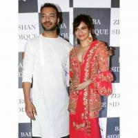 Ankita Lokhande And Vicky Jain Pics From Baba Siddique Party