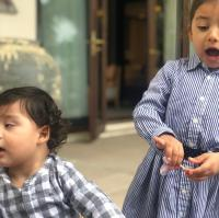 Misha Kapoor and Zain Kapoor