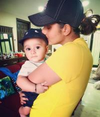 Sania and Izhaan Malik