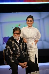 Taapsee Pannu and Amitabh Bachchan