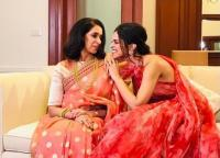Deepika Padukone with her mother