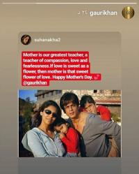 Shah Rukh Khan, Gauri Khan, Aryan Khan and Suhana Khan