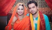 Veena Malik with her ex husband