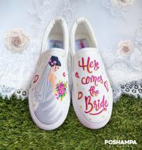 Poshampa hand painted shoes