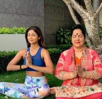 Shilpa Shetty Kundra and Sunanda Shetty