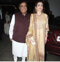 Nita Ambani and Mukesh Ambani