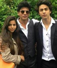 Shah Rukh Khan and kids