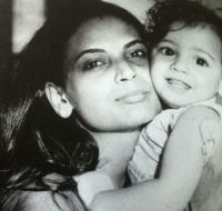 Dia Mirza and her mother Deepa Mirza