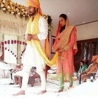 Shahid and Mira laava