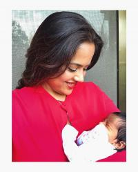 Sameera and baby