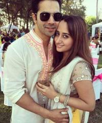 Varun Dhawan and Natsha dalal