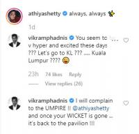 Vikram Phadnis's comments