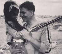 Akshay Kumar with Nitara
