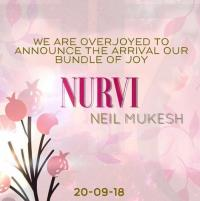 baby announcement by neil