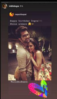 Raqesh Bapat Pours Beautiful Birthday Messages For Ex Wife Ridhi Dogra