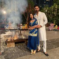 Charu asopa and Rajeev sen first lohri