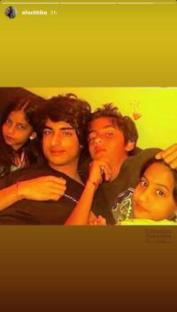 Aryan Khan, Suhana Khan, Arjun Chhiba and Alia Chhiba