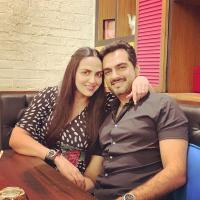 Esha Deol and Bharat Takhtani