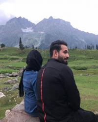 Irfan Pathan and Safa Baig