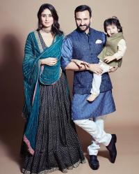 Saif Ali Khan, Kareena Kapoor Khan and Taimur Ali Khan