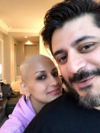 Sonali Bendre Bald