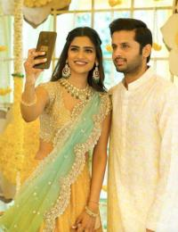 Nithiin Reddy and Shalini Kandukuri