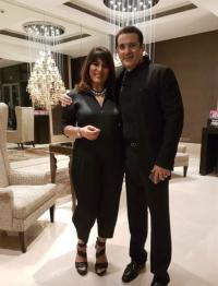 Archana Puran Singh and Parmeet Sethi