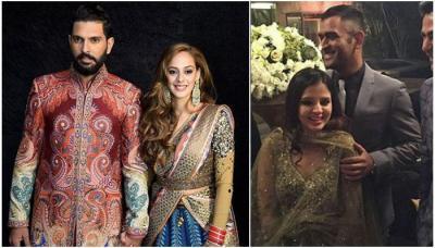 Complete Album Of Yuvraj Singh And Hazel Keech's Delhi Wedding Reception