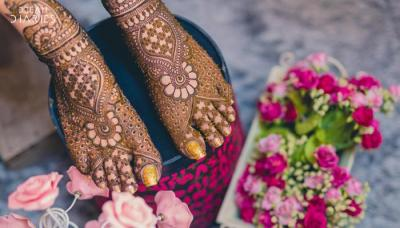 Mehndi For N Brides : Significance of mehendi in indian marriages bollywoodshaadis.com