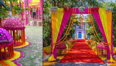 How to organise a village themed wedding perfectly 10 wedding decor ideas for the main entrance of the wedding venue junglespirit Choice Image