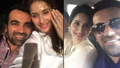 Indian Cricketer Zaheer Khan Gets Engaged To 'Chak De! India' Actress Sagarika Ghatge