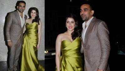 Zaheer Khan And Sagarika Ghatge Are Officially Engaged Now