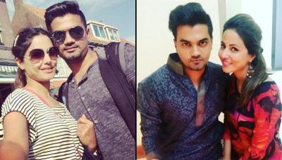 Hina Khan's Rumoured Beau Rocky Jaiswal Surprises Her In Spain Because She Missed Him