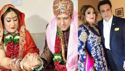 After Having 2 Children Govinda Got Married Again With Band Baaja And Baraat
